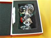 BACCARAT Collectible Plate/Figurine SNOOPY
